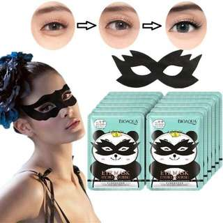 Masker siap pakai untuk mata panda