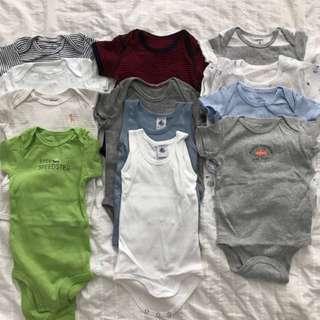 6-9 Months Baby Clothes Romper Bundle Set