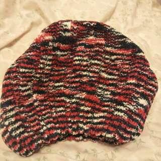混色針織毛帽