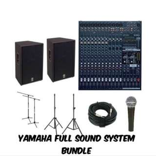Cheap Sound System Rental For Budget Events