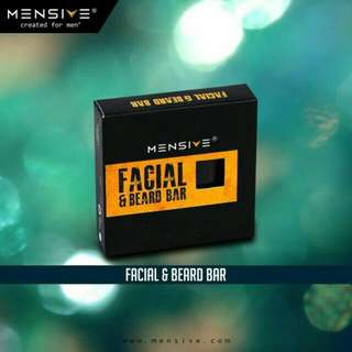 Mensive Facial & Beard Bar Soap