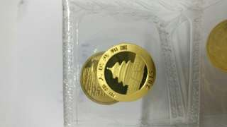 2015 China 1/10 oz Panda Gold Coin