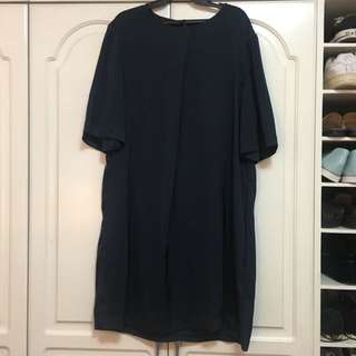 The Fifth Label navy blue dress