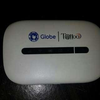 Globe Tattoo Pocket Wifi
