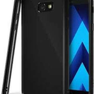 Samsung A7 2017 Protective Cover (plain black)