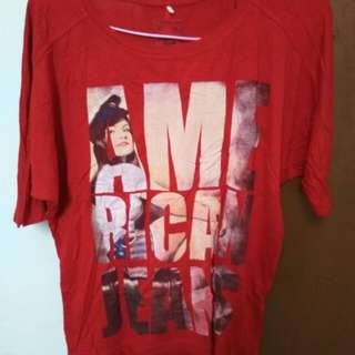 T-shirt American jeans
