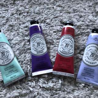 Chatelaine Hand cream x4