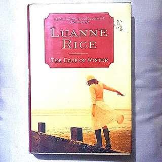Luanne Rice: The Edge of Winter (hardbound)