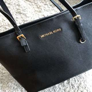 MK Michael Kors Medium Black Tote