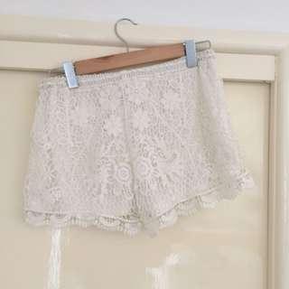 Lace Shorts Free Shipping