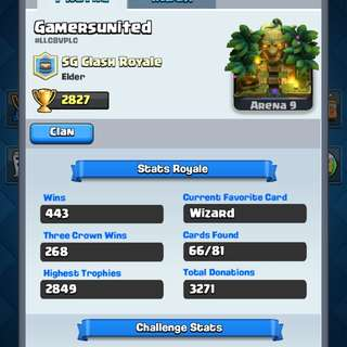 Clash Royale Account [Google Only]