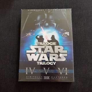 Star Wars Original Trilogy (6-Disc Set Widescreen DVD) Remastered & Original Release!