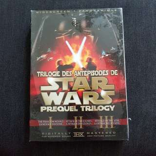 Star Wars Prequel Trilogy (6-Disc Set Widescreen DVD) Remastered & Original Release!