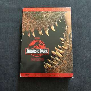 Jurassic Park 1 and 2 box set