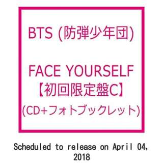 [PREORDER] BTS FACE YOURSELF JP ALBUM (CD+ Photo Booklet)