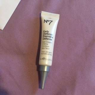 No7 ~ Early Defence eye cream