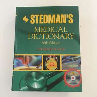 Stedmans Medical Dictionary 28th Edition
