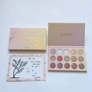 Brand New ColourPop Golden State Of Mind - Shadow Palette