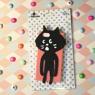 【現貨】+【預購】日本 ne net 小黑貓 貓咪 iphone6/6s手機殼