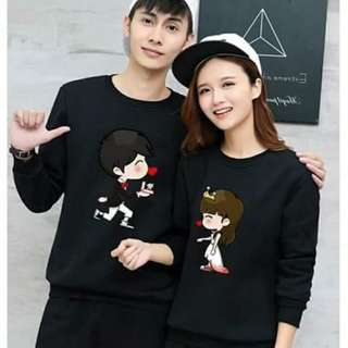 Korean longsleeves couple