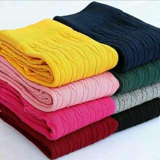 Celana legging polos anak perempuan 2-3tahun kualitas import
