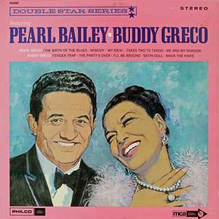 Pearl Bailey, Buddy Greco, Vinyl LP, used, 12-inch original pressing