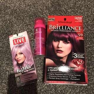 Hair Colour And Dry Shampoo