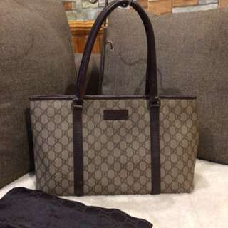 Authentic Gucci Tote Bag With Dustbag