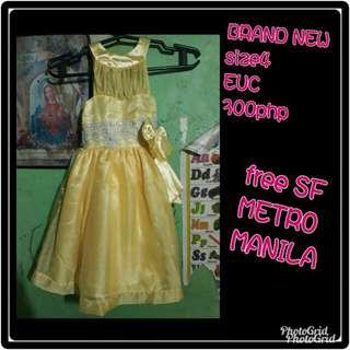Brand new Gown
