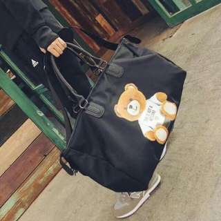 Travelling Bag with 🐻 design