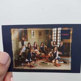 OFFICIAL TWICE SIGNAL PHOTOCARD