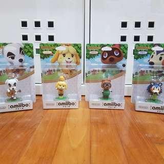 BNIB NINTENDO amiibo animal crossing