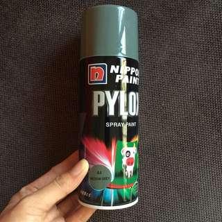 Grey spray paint new