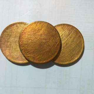 Raw material~coins