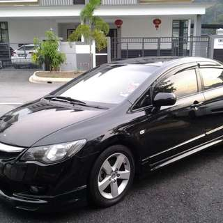 Honda Civic FD1 1.8a i-vtec facelift model 2011