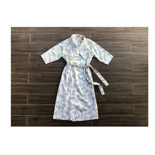 Laura Ashley English Floral Bathrobe