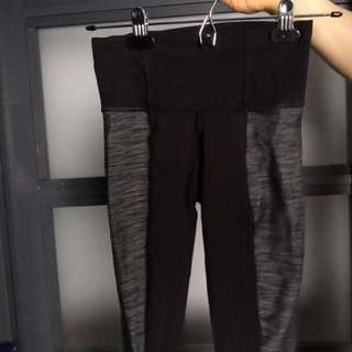 Lululemon high waisted straight leg pants