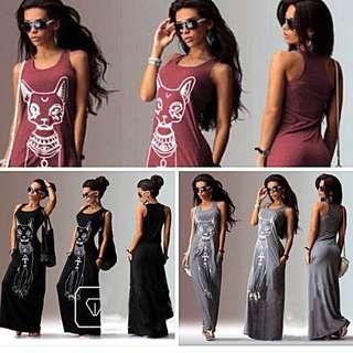 Us maxi dress