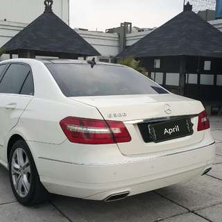 Mercedes Benz E300 AVG AMG 2013 putih metalik