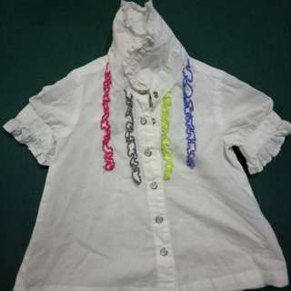 Baby guess polo and shirt