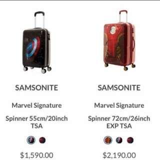 Samsonite MARVEL 美國隊長20吋行李箱
