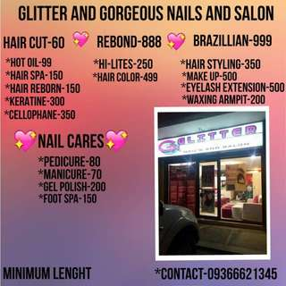 💖Glitter and Gorgeous Nails and Salon💖