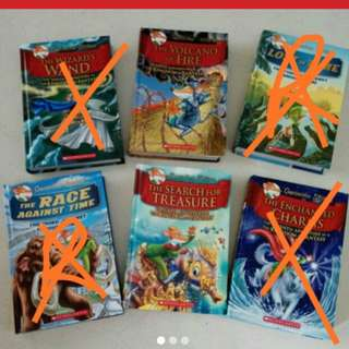 Geronimo Stilton Books ...cheap sale