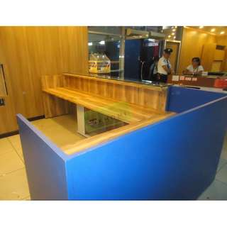 CUSTOMIZE RECEPTION COUNTER--KHOMI