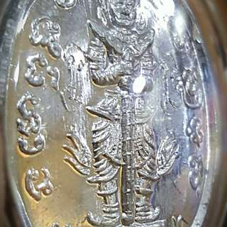 2nd Batch year 2555 Phra Taowessuwan, king of Gold. Wat Dornkaew by Ajarn Odd.