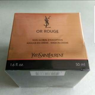 YSL Or Rouge Mask-In-Cream