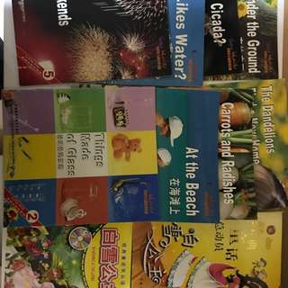 Story books(chinese)4,5,6 year olds