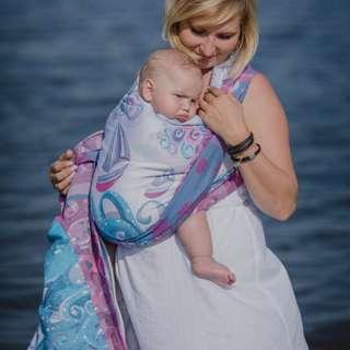 Lennylamb toddler wraptai in high tide