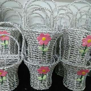 2 pcs flower basket