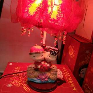 Chinese New year couple light